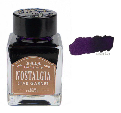 Kala Nostalgia Gemstone Star Garnet - 30ml Glass Bottle