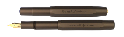 Kaweco AL Sport Fountain Pen - Golden Espresso