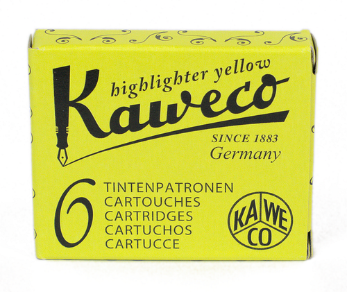 Kaweco Highlighter Yellow - Ink Cartridges