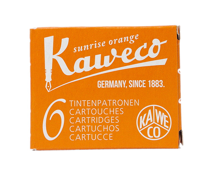 Kaweco Sunrise Orange - Ink Cartridges