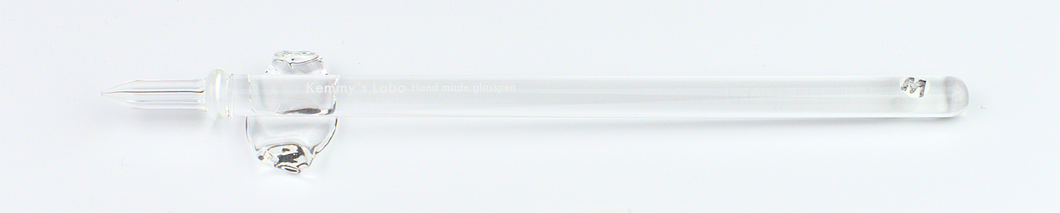 Kemmy's Labo Thin Glass Pen - Petal (Clear)