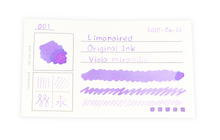 Load image into Gallery viewer, Limonaired Ink Test Card