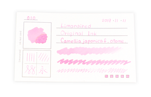 Limonaired Ink Test Card