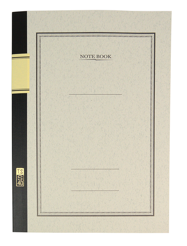 MDS University Notebook S40 - B5 7mm Lined - White