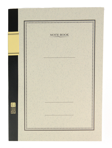 MDS University Notebook S60 - B5 7mm Lined - White