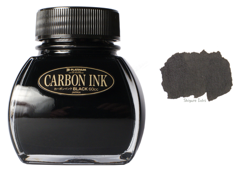 Platinum Carbon Black - 60ml Glass Bottle
