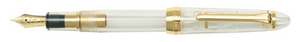 Sailor 1911 Standard Fountain Pen - Transparent with Gold Trim