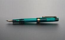 Load image into Gallery viewer, Sailor Pro Gear Slim Fountain Pen - Blue Green Nebula