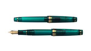Sailor Pro Gear Slim Fountain Pen - Blue Green Nebula