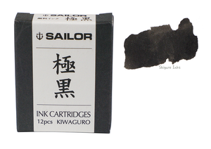 Sailor Kiwa-Guro - Ink Catridges