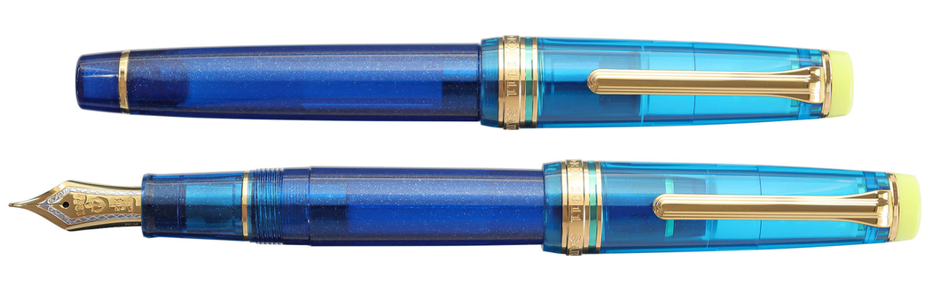 Sailor Pro Gear Fountain Pen - Kure Azur