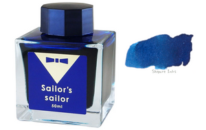 Sailor's Sailor Ocean Blue Ink - 50ml Glass Bottle