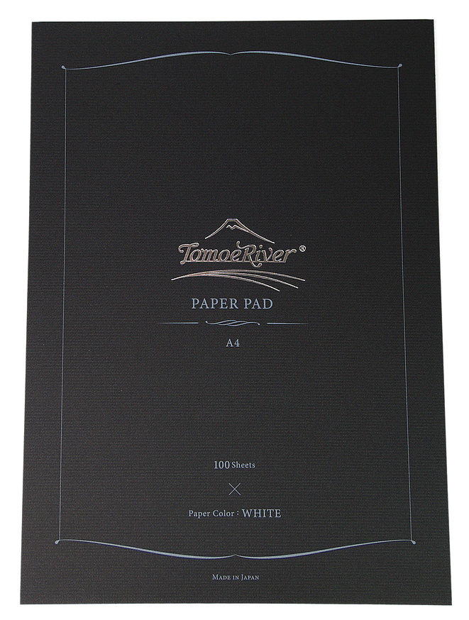 Tomoe River 52gsm Paper Pad - A4 Blank White