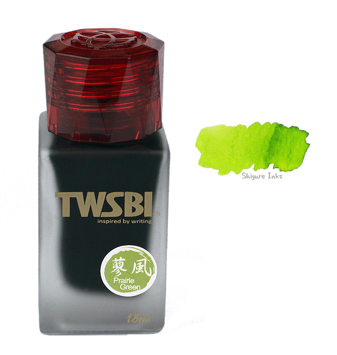 TWSBI 1791 Prairie Green - 18ml Glass bottle