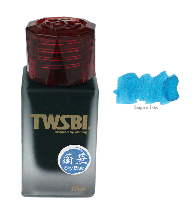 TWSBI 1791 Sky Blue - 18ml Glass bottle