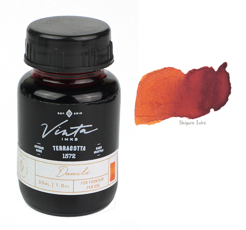 Vinta Inks Terracotta Damili 1572 - 30ml Glass Bottle