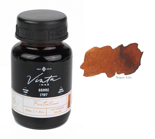 Vinta Inks Ochre Fortaleza 1797 - 30ml Glass Bottle