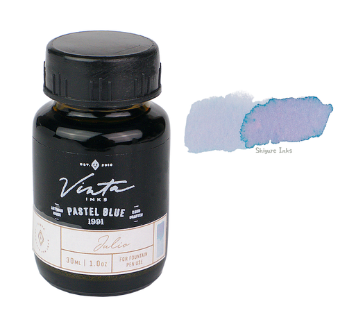 Vinta Inks Pastel Blue Julio 1991 - 30ml Glass Bottle