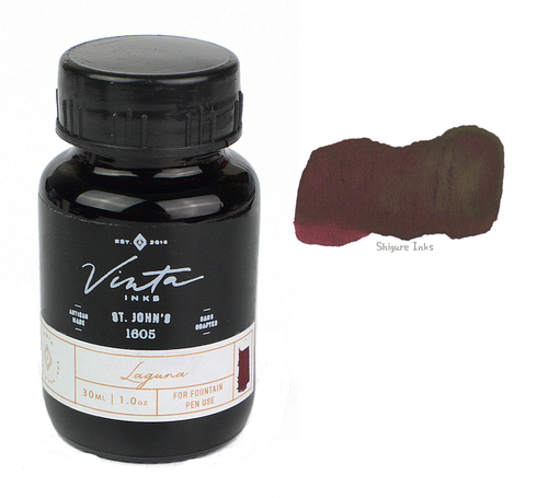 Vinta Inks St. John's Laguna 1605 - 30ml Glass Bottle