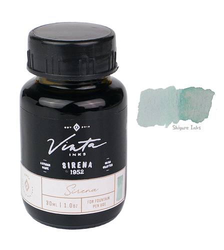 Vinta Inks Mermaid Green Sirena 1952 - 30ml Glass Bottle