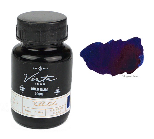 Vinta Inks Sulu Blue Tubbataha 1993 - 30ml Glass Bottle