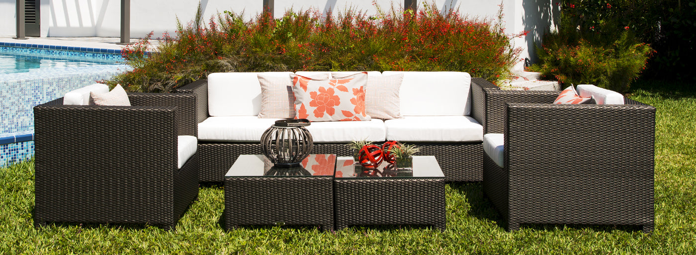 Monaco collection of outdoor furniture