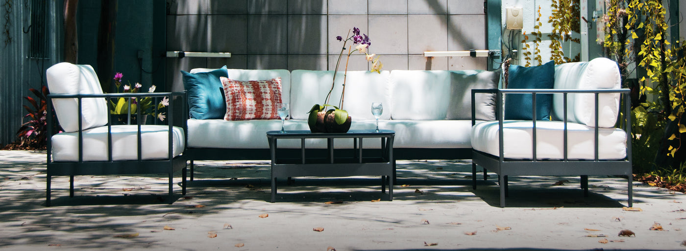 Oslo Collection of outdoor furniture.