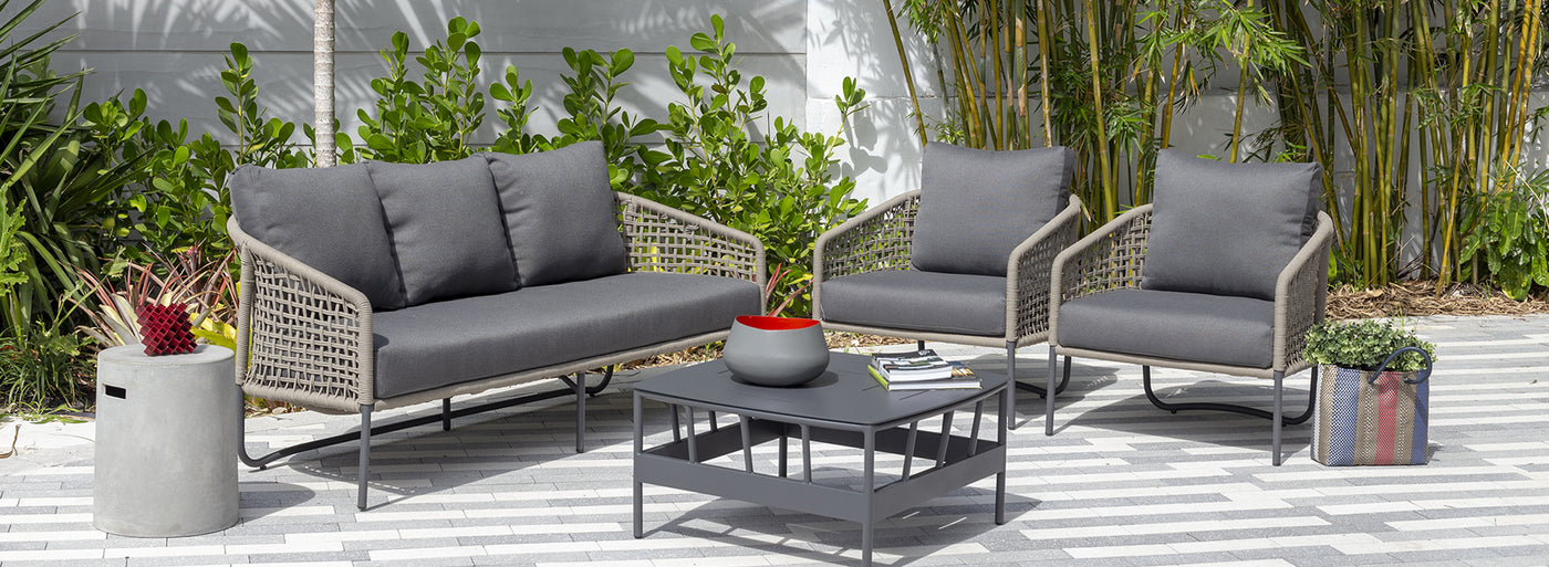 Sardinia Collection of outdoor furniture.