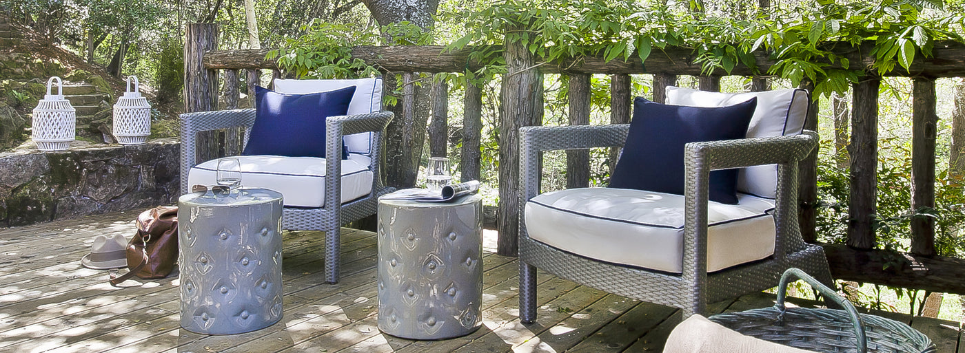 Kannoa's South Beach Collection of outdoor furniture