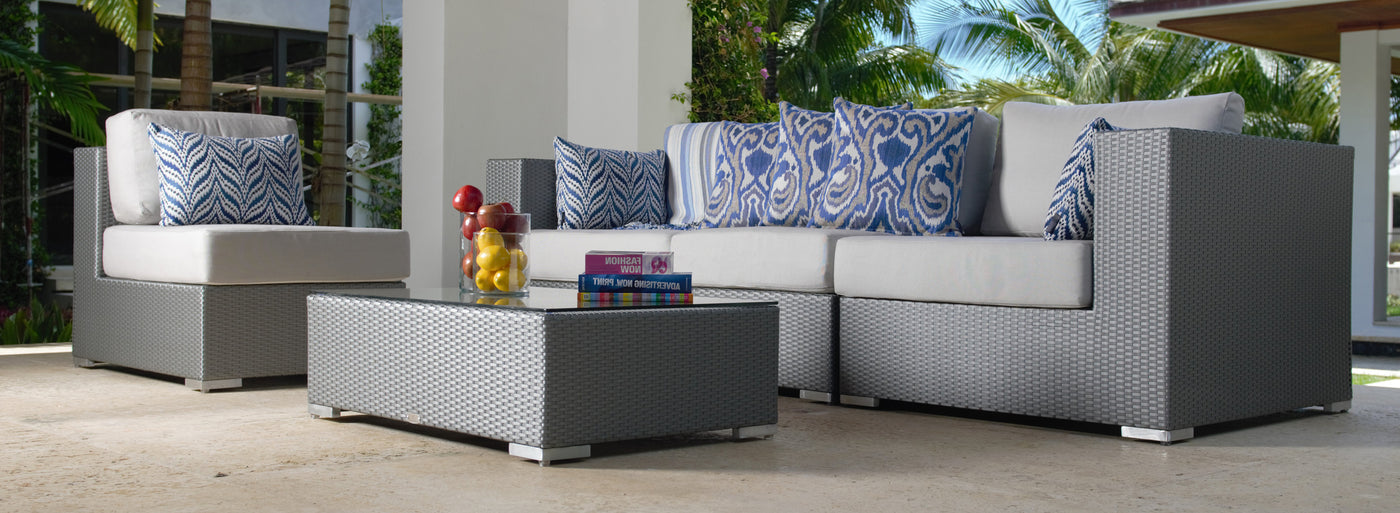 Tangier outdoor furniture collection.
