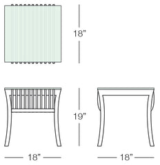 Adirondack Table Sizes Image