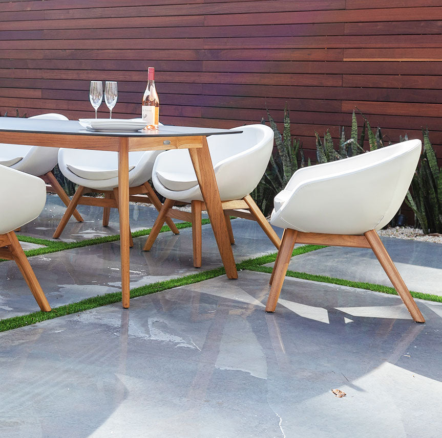 Santorini Outdoor Dining Chairs - Kannoa