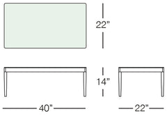 Cancun Coffee Table Sizes Image