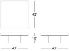 Urban Large Coffee Table Sizes Image