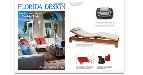 Florida Design Magazine Features Nest from Kannoa