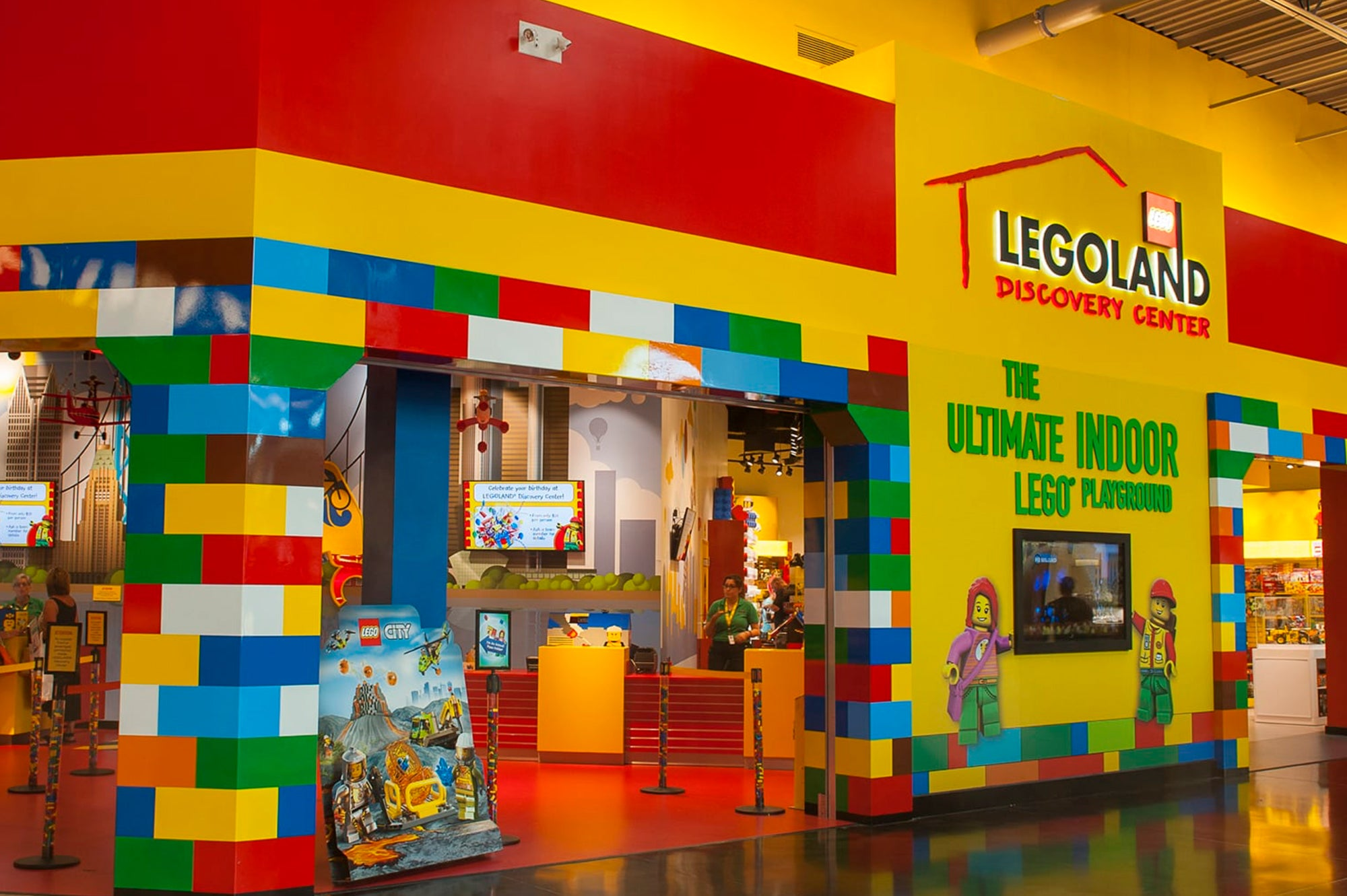 Lego Retail Store Front