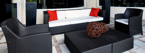 Outdoor Sofa and Chairs by Kannoa