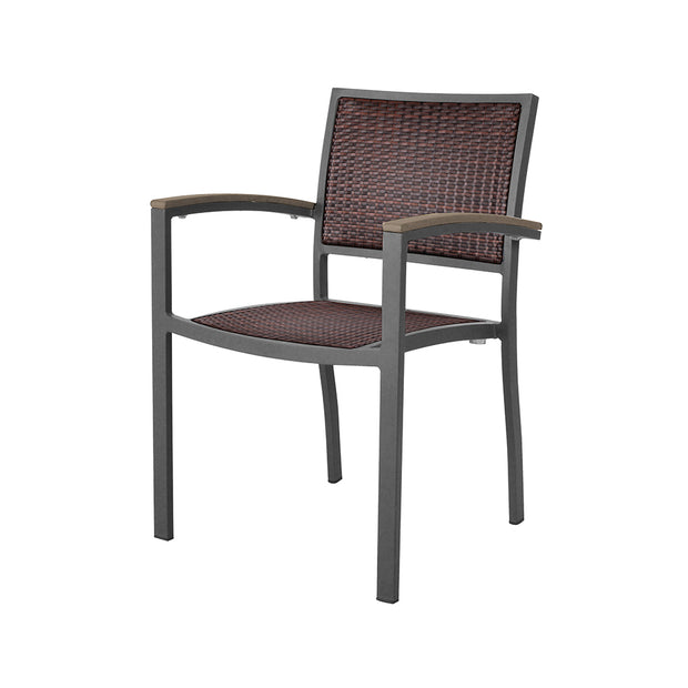 Dominica Dining Chair with Arms