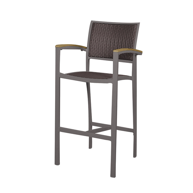 Dominica Barstool with Arms