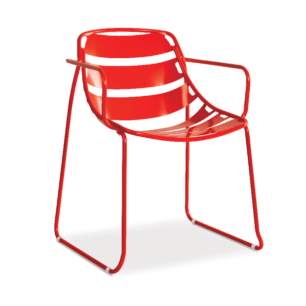 Ellie Dining Chair - Ruby Red