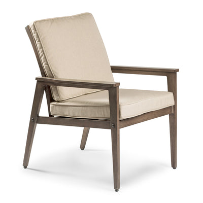 Horizon Dining Chair - Faux Aged Teak
