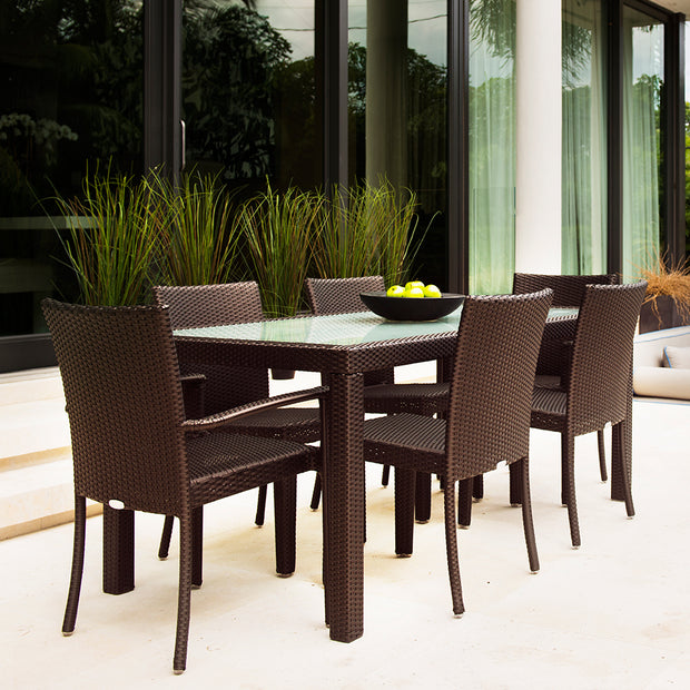 "Marbella 84"" x 40"" Rectangular Dining Table"