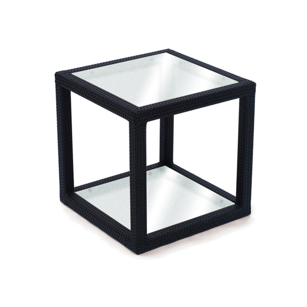 Margarita Side Table with Frosted Glass Top