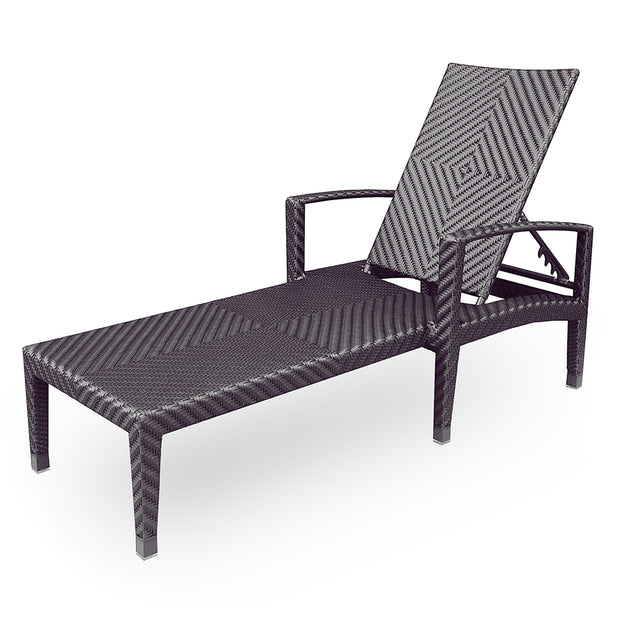 Savannah Chaise Lounge with Arms