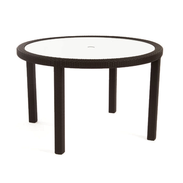 Seneca Dining Table with Tempered Glass Top