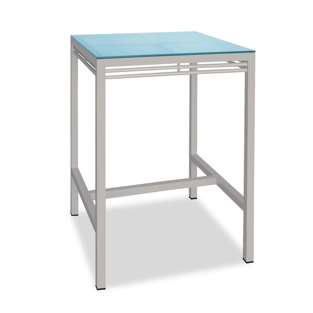 Toledo Square Bar Table - Agate Gray
