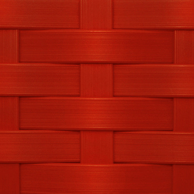 Premium Wicker Color Swatch Red