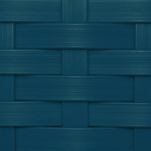 Premium Wicker Color Swatch Blue
