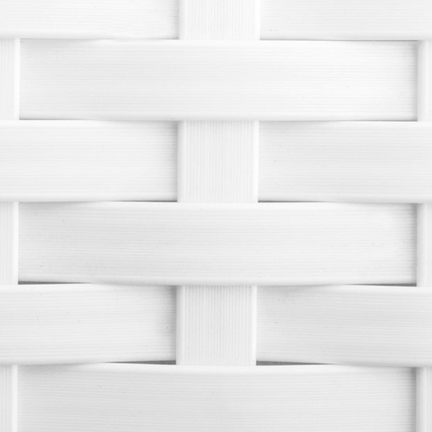 Standard Wicker Color Swatch White
