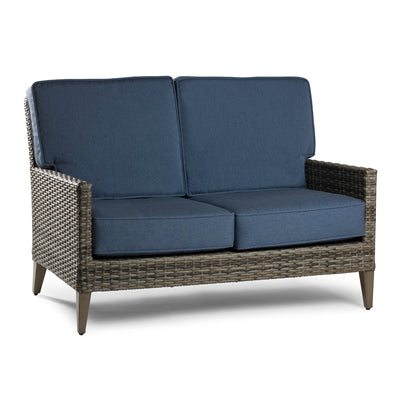 Haven Loveseat - Vintage Gray With Gray Mixed Wicker